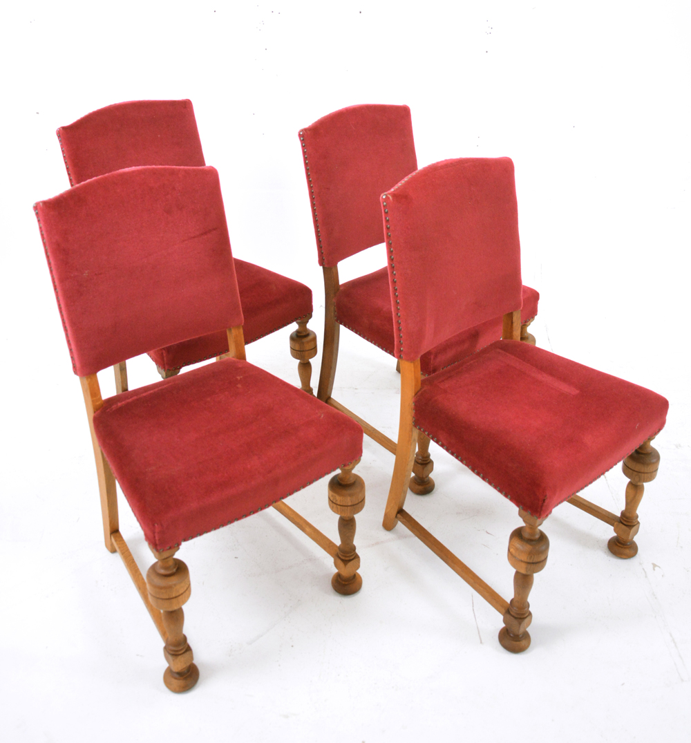 antique oak dining chairs for sale 4 oak frame dining chairs velvet upholstery 9030