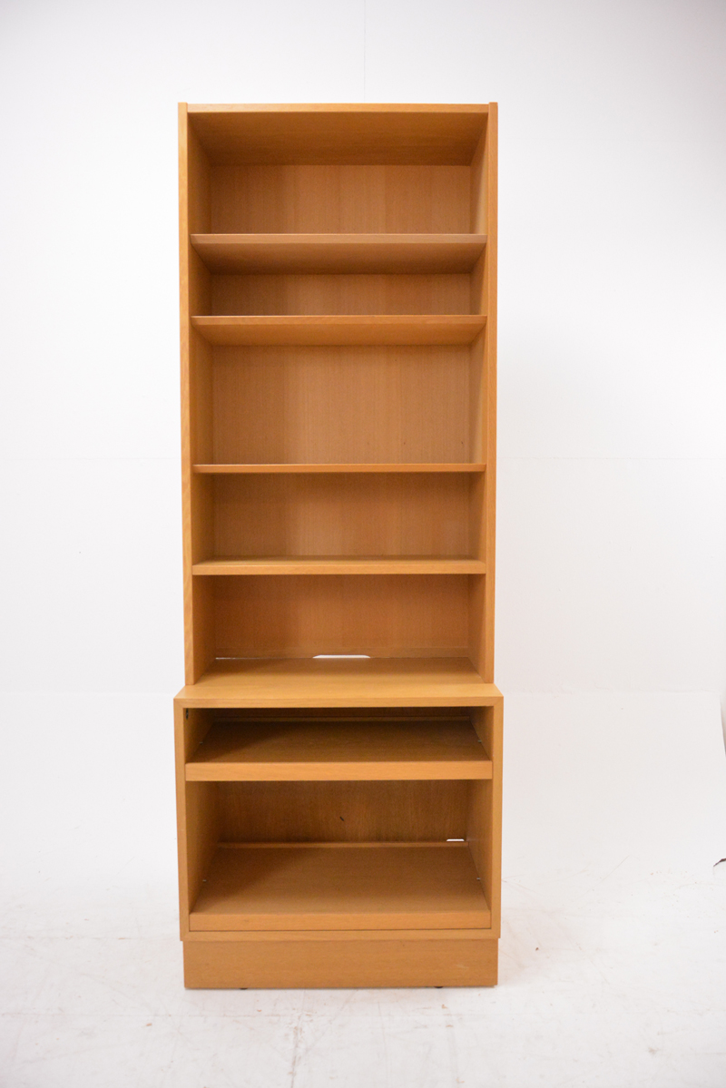 Carlo Jensen Narrow Bookcase In Oak