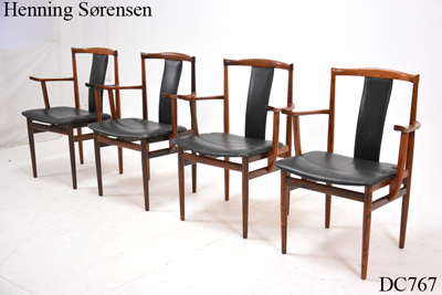 Large selection of vintage and midcentury Danish dining chairs ...