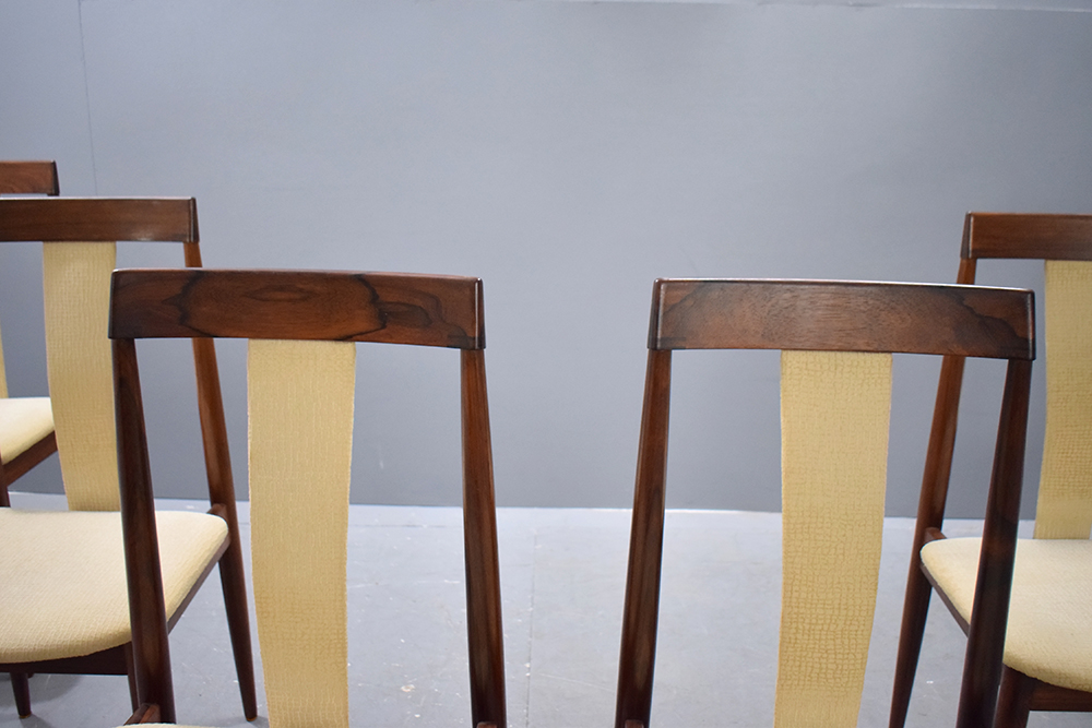 ... Frem Rojle Produced Rosewood Dining Chairs Designed By Hans Olsen ...