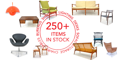 Midcentury Modern Danish furniture for sale at Danish Homestore in