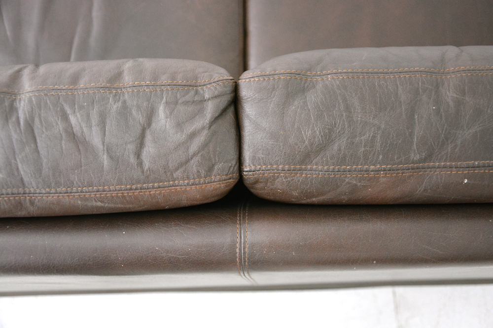 Vintage 3 Seat Box Sofa Danish Homestore