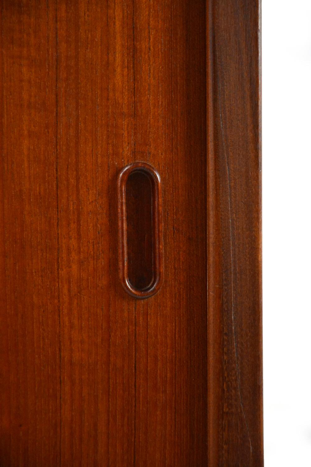 3 Door Teak Wardrobe Tm Line Danish Homestore