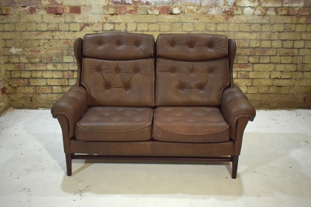 Leather Dining Chairs Vintage