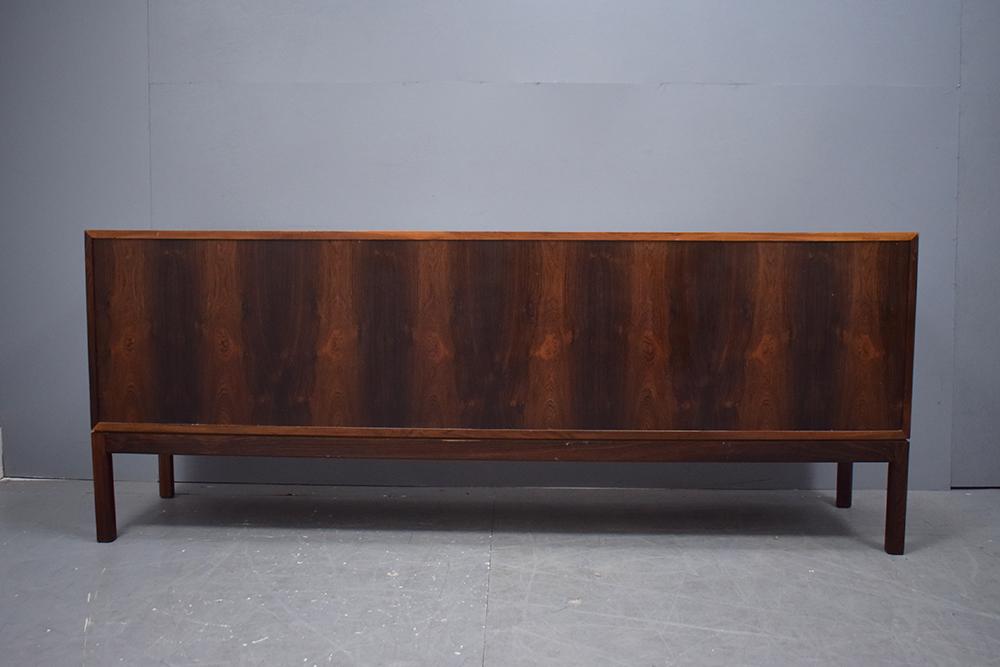 Danish Rosewood Credenza : Rosewood sideboard sliding doors danish homestore