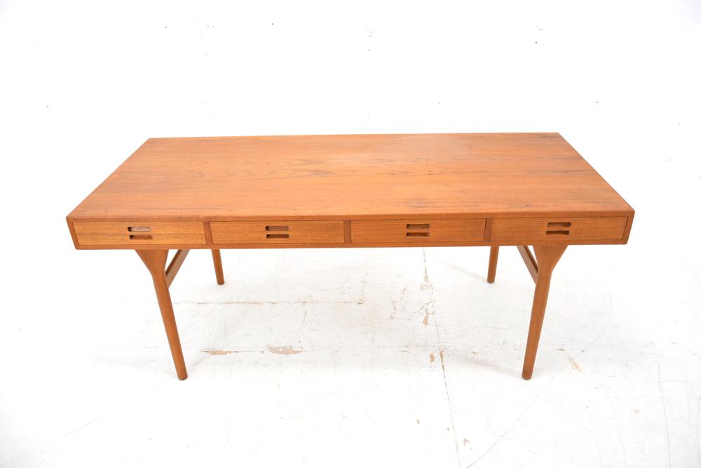 Nanna Ditzel Teak Desk Model Teak Danish Homestore - Narrow teak table